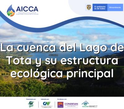 La cuenca del Lago de Tota y su Estructura Ecológica Principal